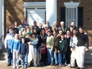 Mitchell Family at 2006 Reunion