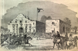 Mexican Soldiers at the Alamo