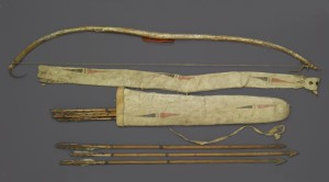 Indian Bow and Arrows